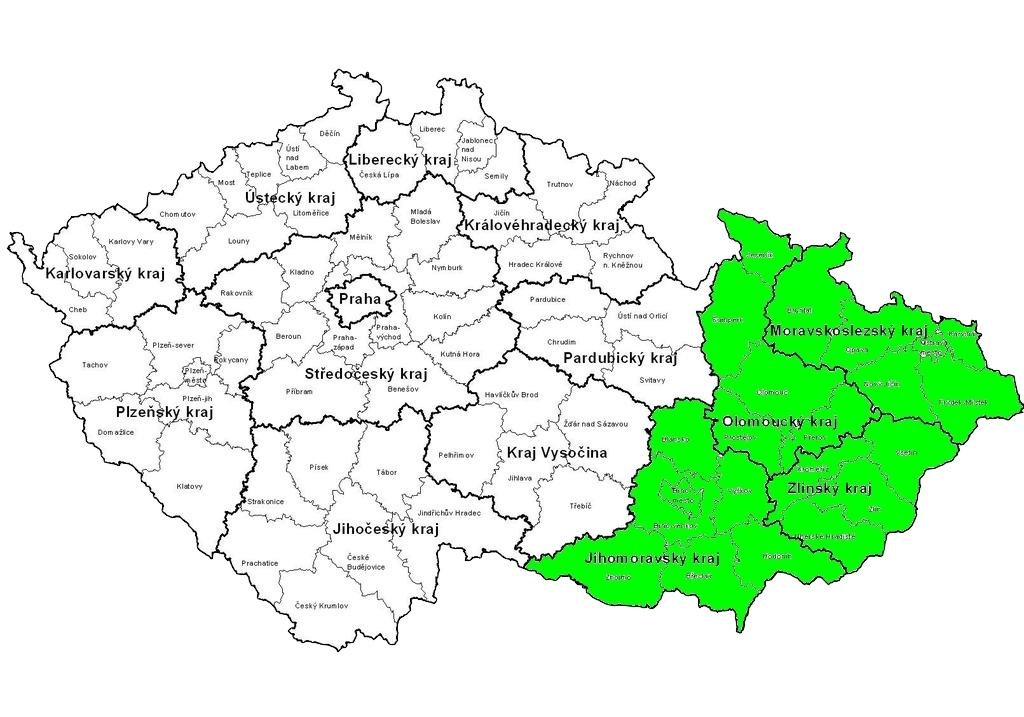mapa cesko test test